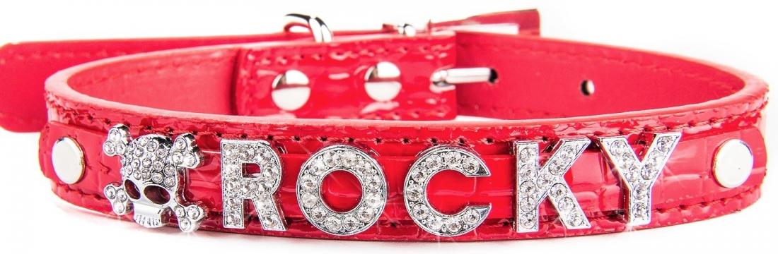 hundehalsband-mit-namen-beispiel-rot