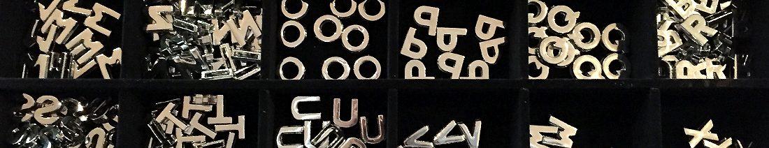 Metall Buchstaben Beitrag